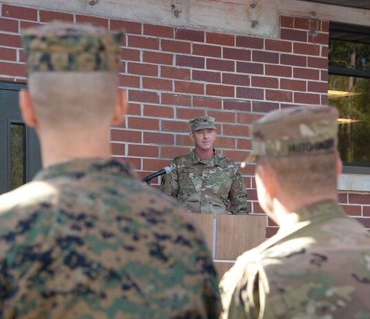 Ga. Army National Guard cuts ribbon on new facilities aboard MCLB Albany