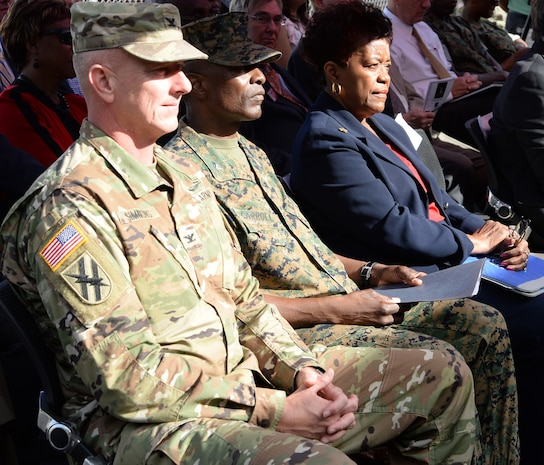 Ga. Army National Guard cuts ribbon on new facilities aboard MCLB Albany