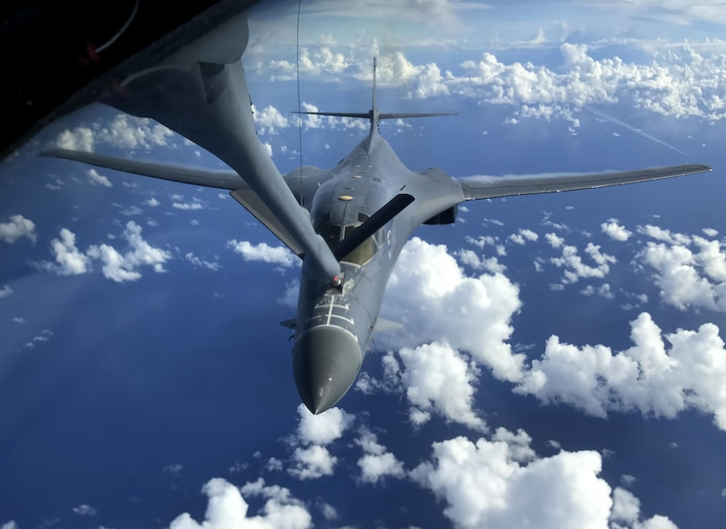 U.S. Air Force bombers integrate with RAAF in Exercise Black Dagger
