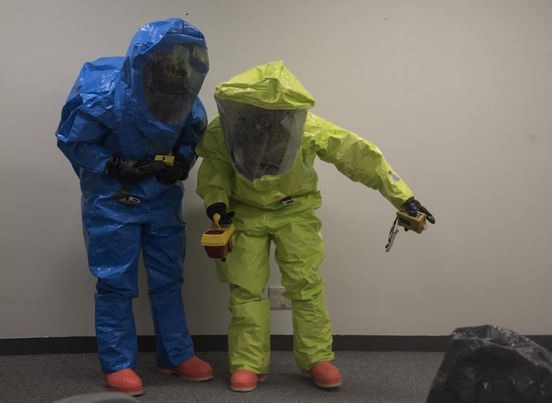35th MDG completes PACAF CBRN exercise