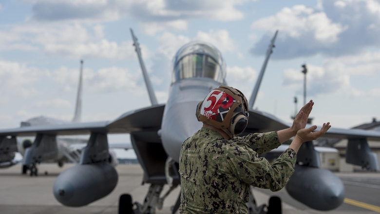 EA-18G Growler inspections