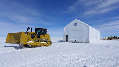ERDC-CRREL moves garage, sets up monitoring in Greenland