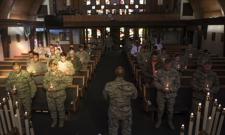 Nellis holds vigil following Vegas shooting