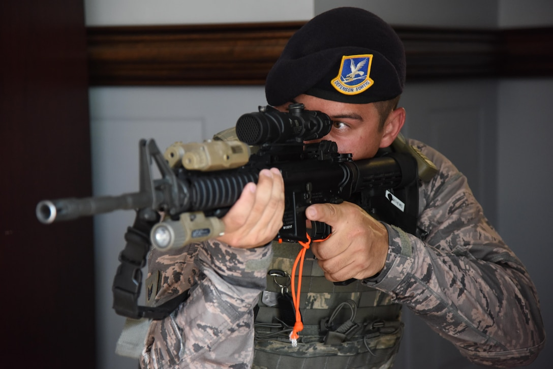 Active shooter exercise tests base response