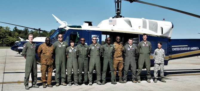 811th OSS hosts African ally for UH-1N training