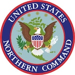 U.S. Northern Command seal.