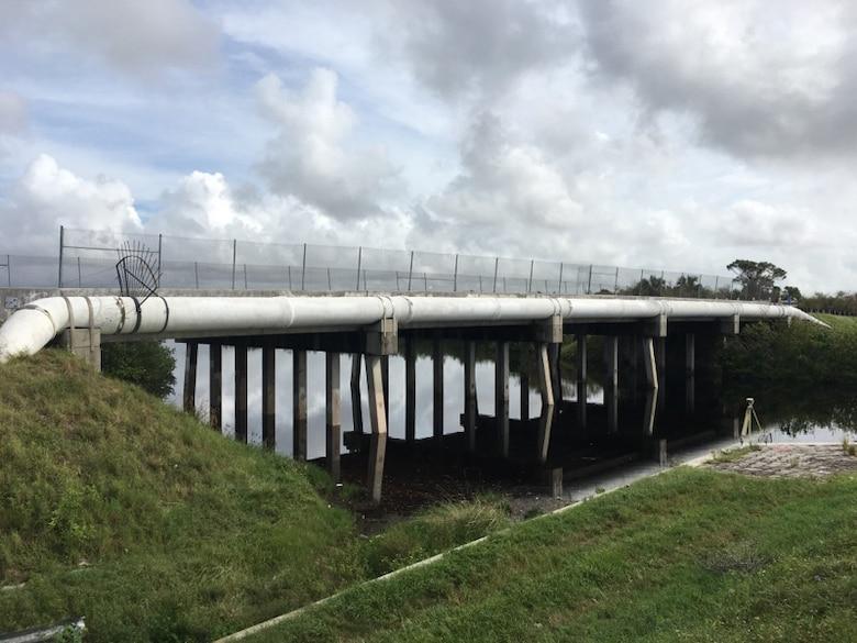 Brevard County Bridge in Merritt Island, Florida