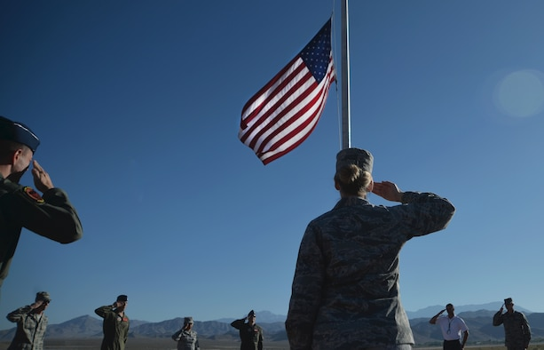 Flags at half-staff are a symbol of respect and honor for those who have passed and represents a time of mourning as a nation