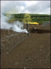 Combat Engineers conduct breaching operations