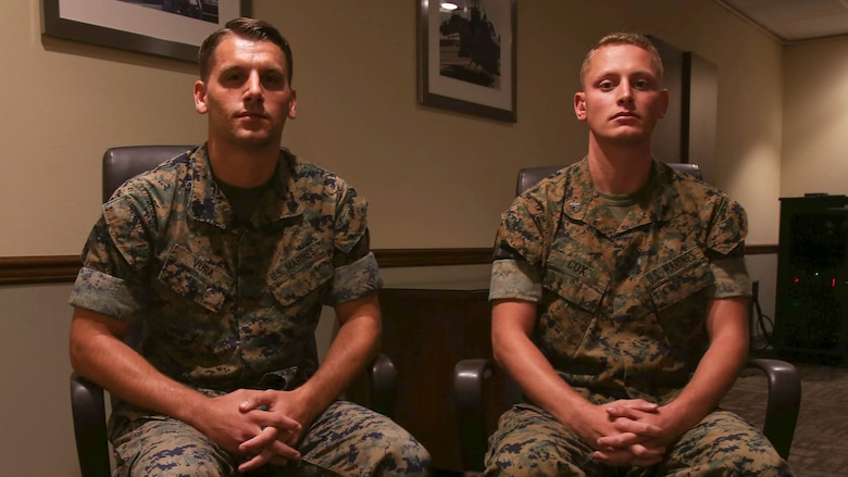These Marines went above and beyond the call of duty and demonstrated characteristics that are instilled in every Marine during training and life in the Marine Corps.