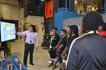 AFRL LEGACY camp students participate in tour activity