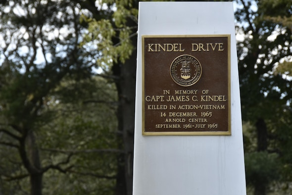 Kindel Drive Monument (U.S. Air Force photo/Jacqueline Cowan)