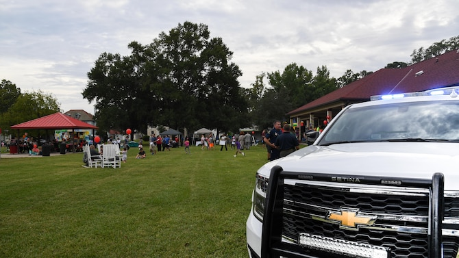 National Night Out at Barksdale