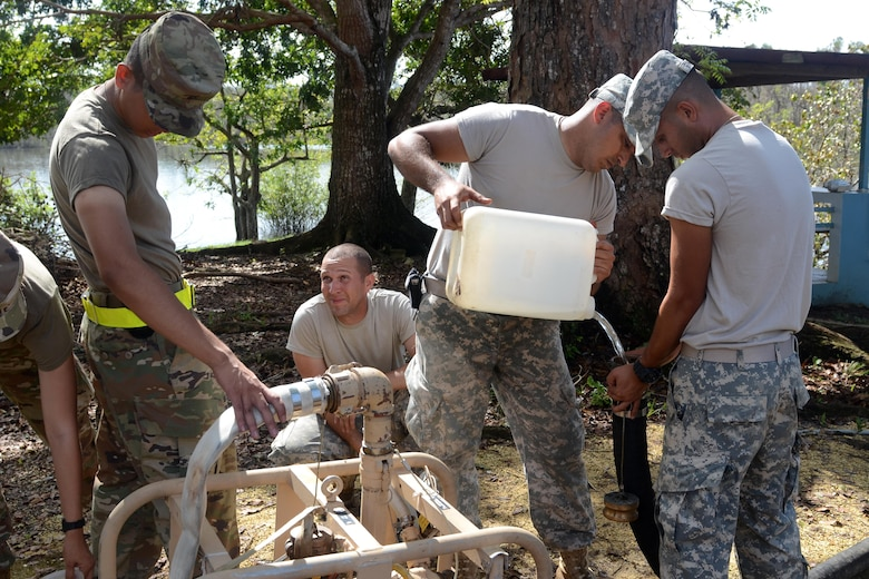 Lake purification in Puerto Rico