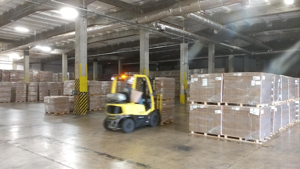 DLA Distribution Albany, Georgia ships more than 80,000 MREs to Texas and Florida in support of the relief efforts for Hurricanes Harvey and Irma.