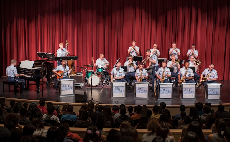 Airmen of Note perform