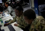 Active duty, reserve and National Guard service members participate in the Cyber Guard and Cyber Flag exercises sponsored by U.S. Cyber Command. The exercises focused on developing coordinated state government, National Guard, commercial enterprise, Defense Department and interagency responses to significant cyberspace-enabled attacks on U.S. domestic critical infrastructure by hostile actors