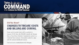 Take command with TRICARE changes