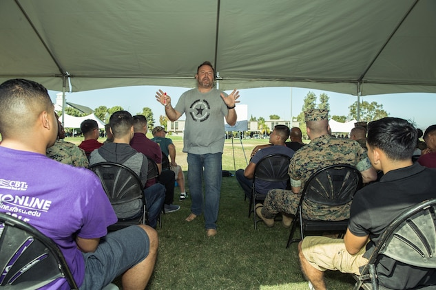 H&S Marines seek to gain resiliency through camaraderie