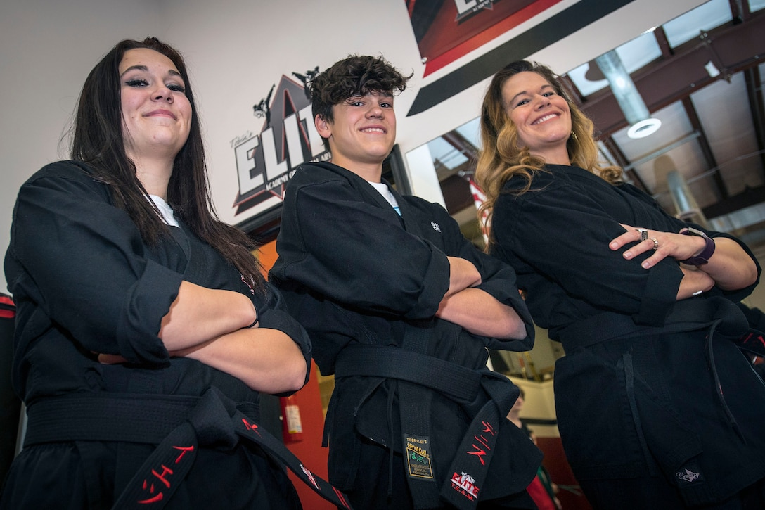 Black belts bring family together