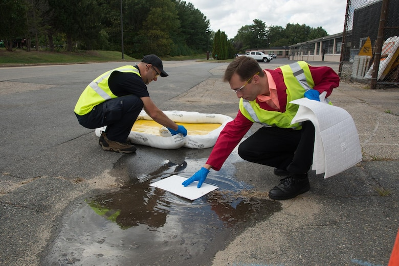 CE officials clean up stormwater