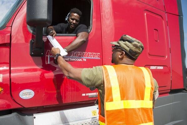 Susquehanna distribution center commander praises team's hurricane response efforts