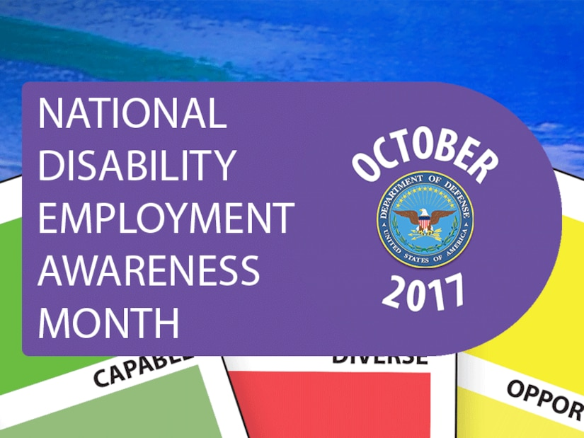 National Disability Employment Awareness Month October 2017