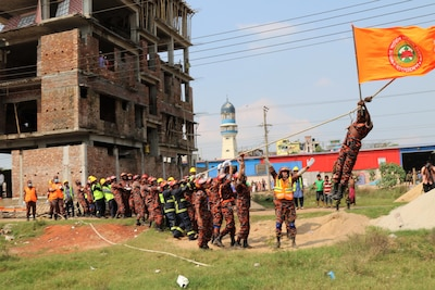 2017 South Asia Pacific Resilience Disaster Response Exercise and Exchange in Dhaka, Bangladesh