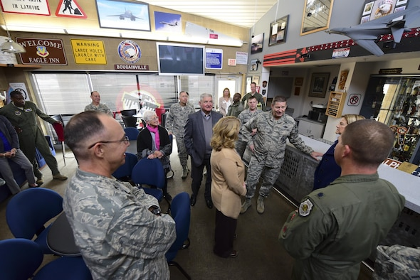 Leaders and spouses from across Air Force Global Strike Command participated in the 2017 Senior Leader Conference Oct. 3 to 6 at Ellsworth Air Force Base, South Dakota.