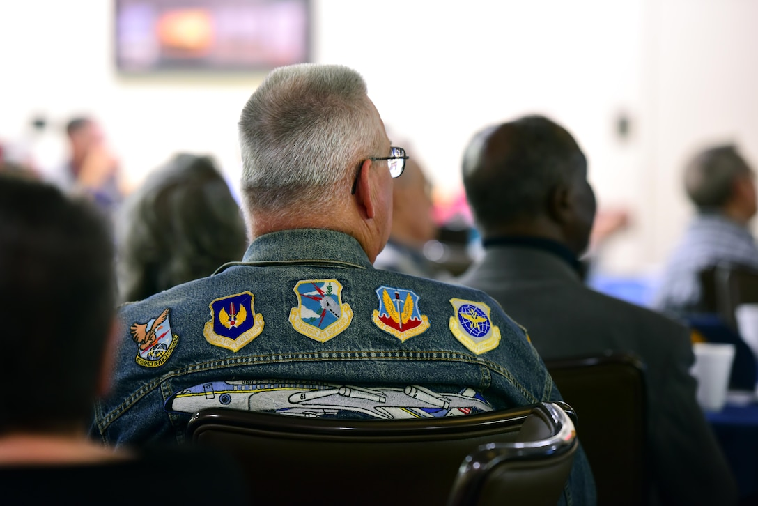 Members of Team Whiteman extend their support to honor our former service members during Retiree Appreciation Day at Whiteman Air Force Base, Mo., Oct. 7, 2017.