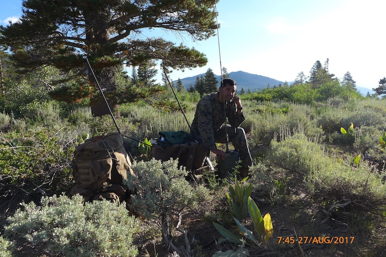 Scientist supports Marine Corps mountain communications training