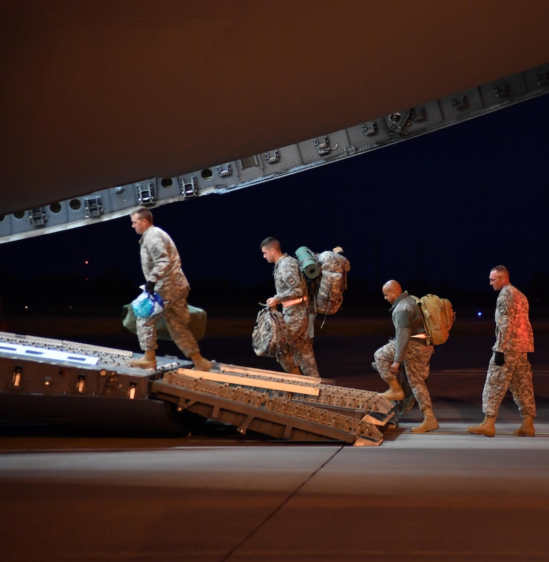 Grand Forks AFB Airmen assist in hurricane relief