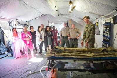 Zuckerberg Hospital Surgical Tent