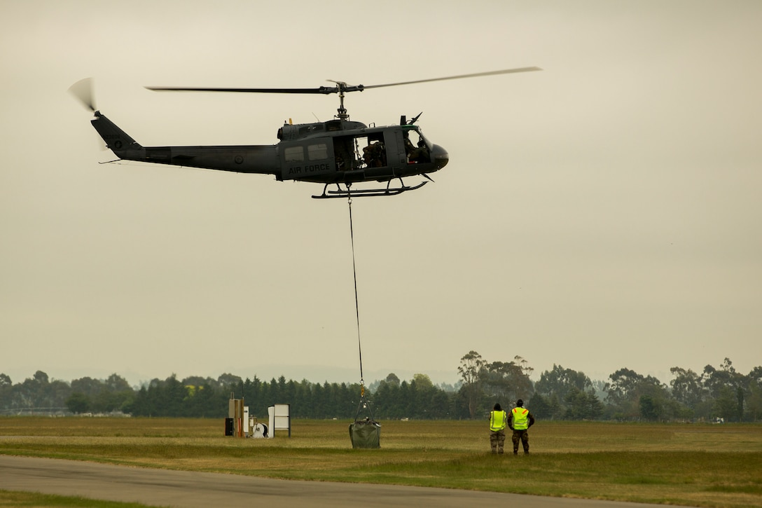 Regional militaries conduct flight missions during exercise Southern Katipo 2013