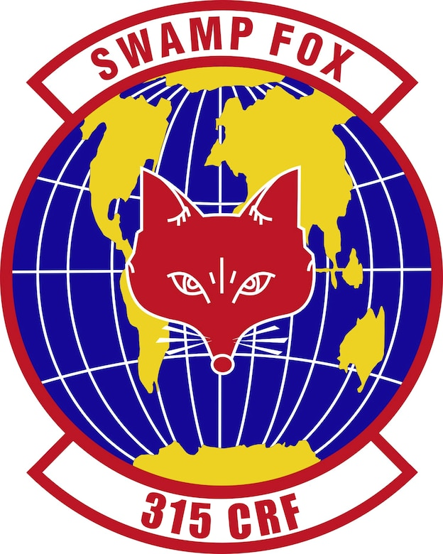 315th Contingency Response Flight Patch. (U.S. Air Force Graphic)