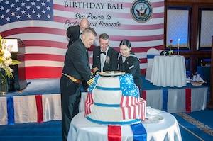 U.S. 5th Fleet Sailors Celebrate Navy's 242nd Birthday