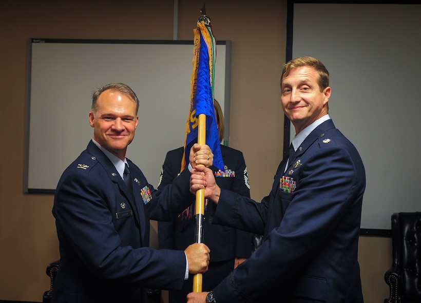 317th Change of Command photo