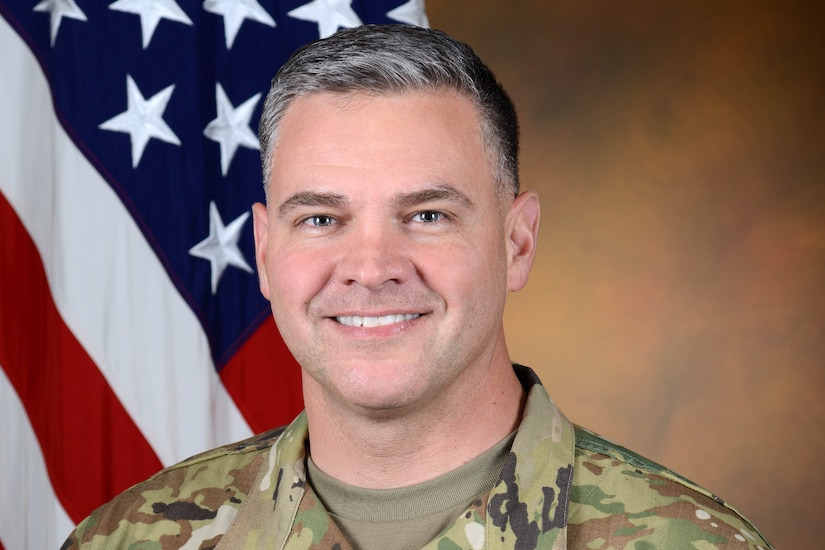 A photo of Army Lt.Col Beire Castro