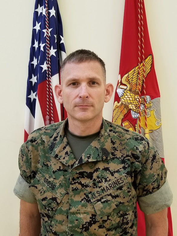 First Sergeant, Weapons Company, 2nd Battalion, 24th Marine Regiment