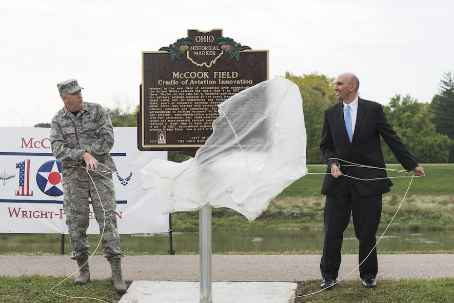 McCook Field Centennial Ceremony