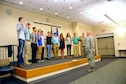 183d Wing swears in 10 new members..