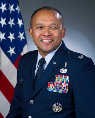 Lt. Col. Erwin Gines, U.S. Air Force, official photo
