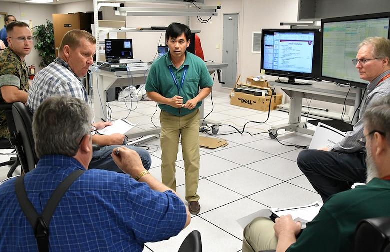 MCTSSA engineers build virtual afloat network