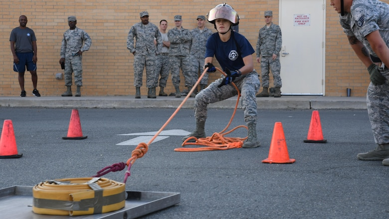 Barksdale's Airmen show strengths at 2017 Fire Muster
