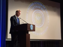 Deputy Defense Secretary Patrick Shanahan says new generations of Americans need to know of the grit and courage of America's Vietnam veterans. Shanahan spoke at the Pentagon's Vietnam War Commemoration.
