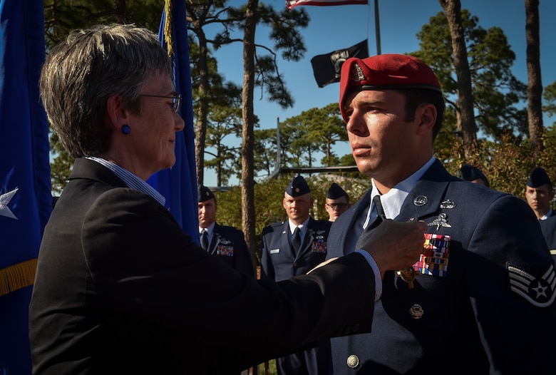 SECAF awards Air Force Cross, 10 medals to Air Commandos