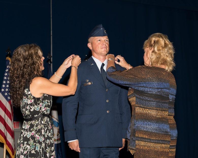 Lt. Col. Jason R. Price is promoted to the rank of colonel.
