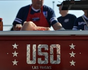 This is the first Las Vegas USO center to open and provide services on an Air Force instillation in Nevada.