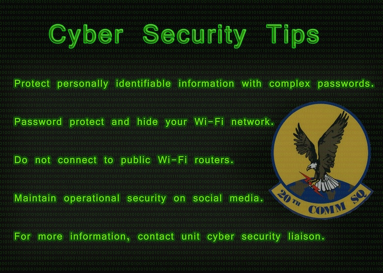 While using cyberspace appropriately can help support mission capabilities, without proper precautions it can turn into a tool for adversaries to gain an upper hand.