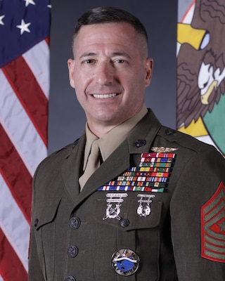 Marine Corps Sergeant Major Anthony A. Spadaro is the senior enlisted leader for U.S. Pacific Command.
